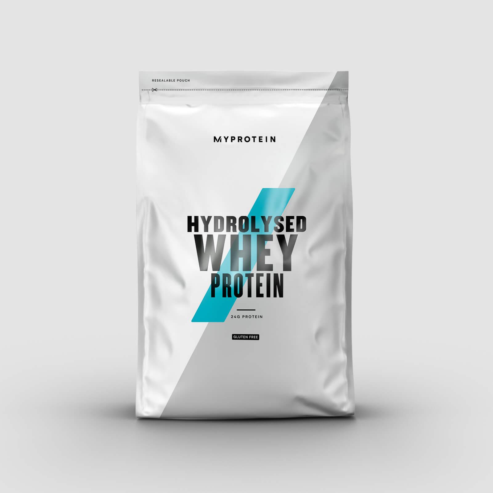 Protéine de whey hydrolysée - 1kg - Sans arôme ajouté