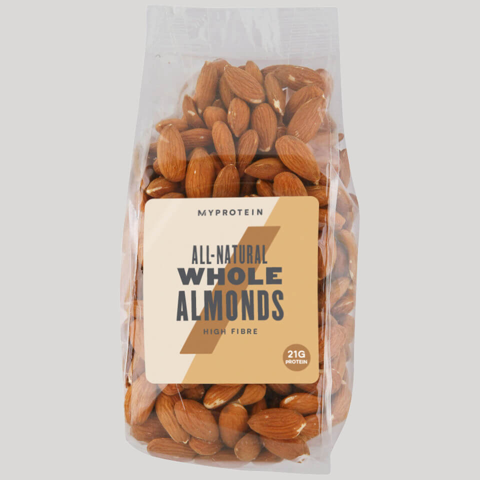 Myprotein Natural Nuts (Whole Almonds) 100% Natural - 400g - Unflavoured