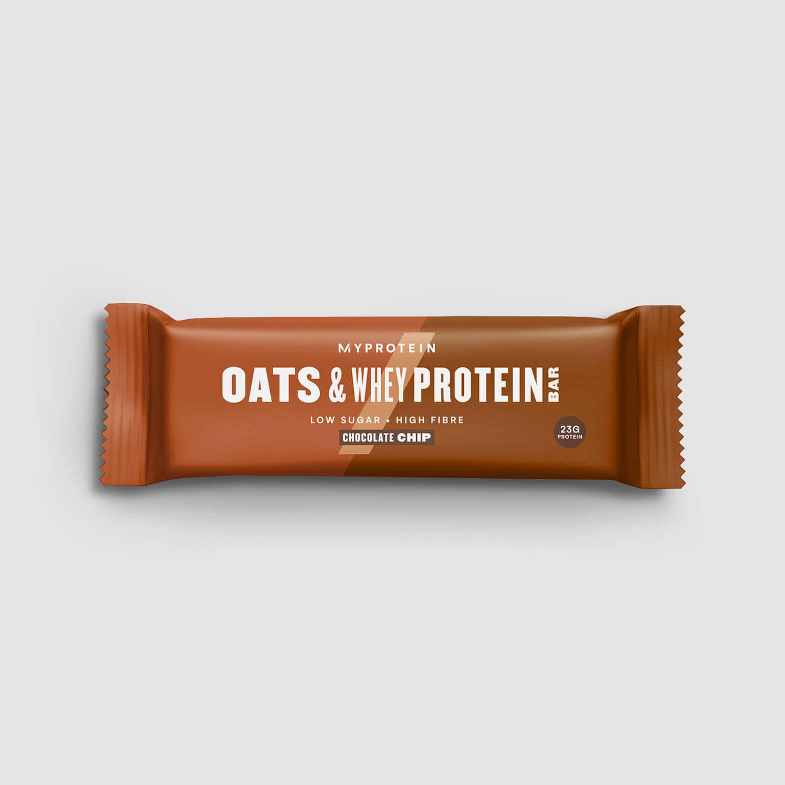 Barre avoine et whey (échantillon) - Copeaux de chocolat
