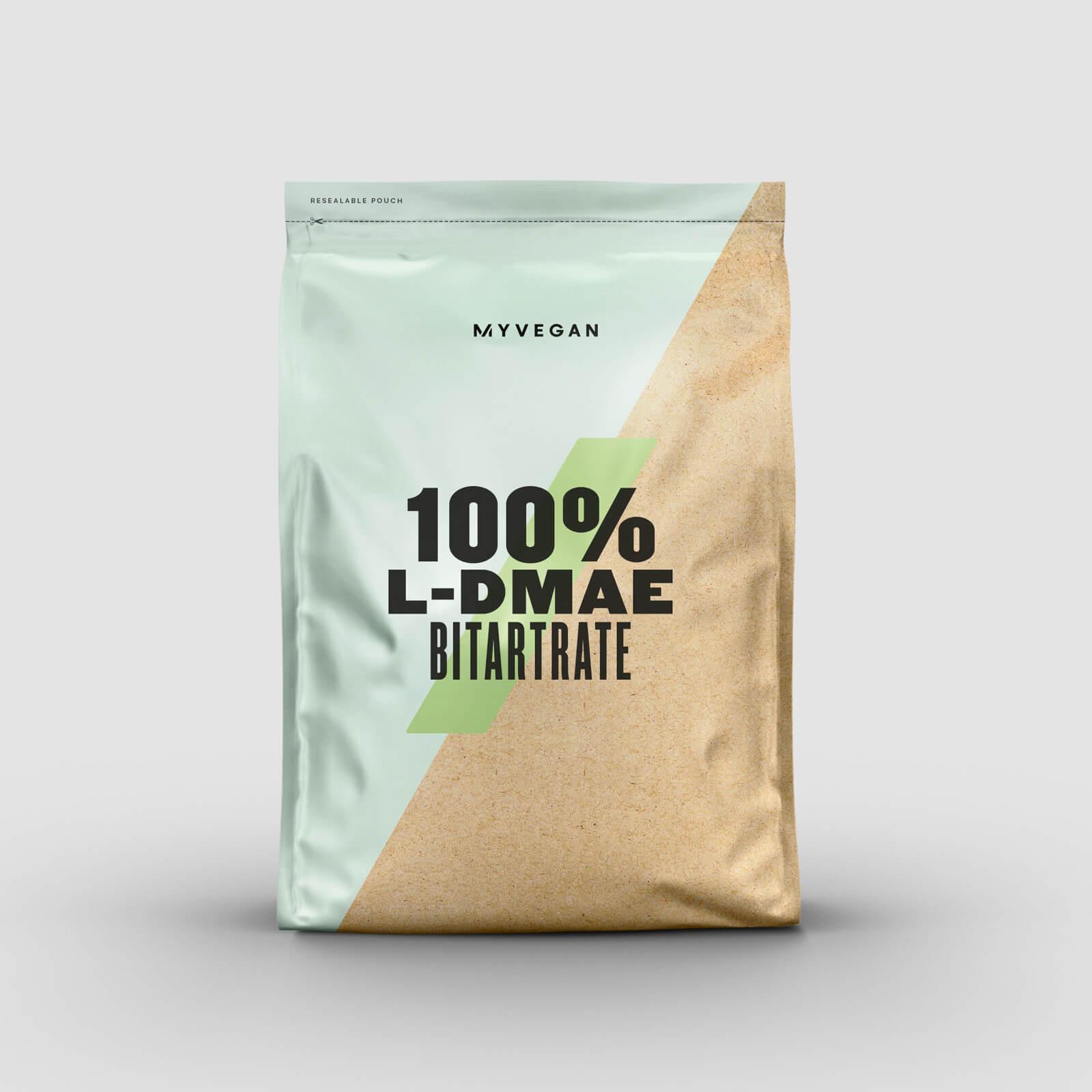 Купить 100% L-DMAE битартрат - 100g - Натуральный вкус, Myprotein International