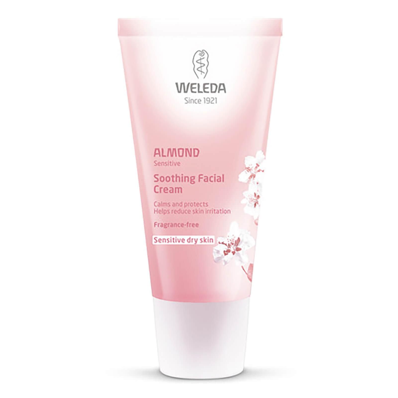 Купить Успокаивающий миндальный крем для лица Weleda Almond Soothing Facial Cream (30мл)