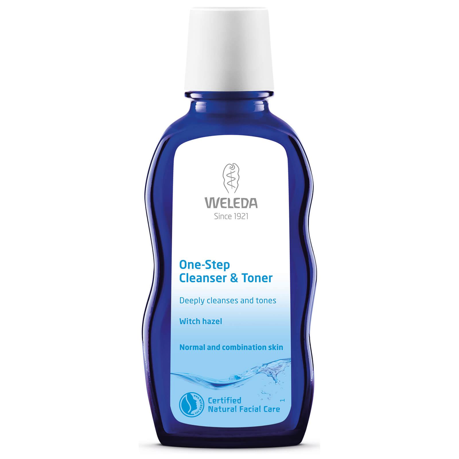 Купить Освежающее и очищающее средство 2-в-1 Weleda One-Step Cleanser & Toner (100мл)