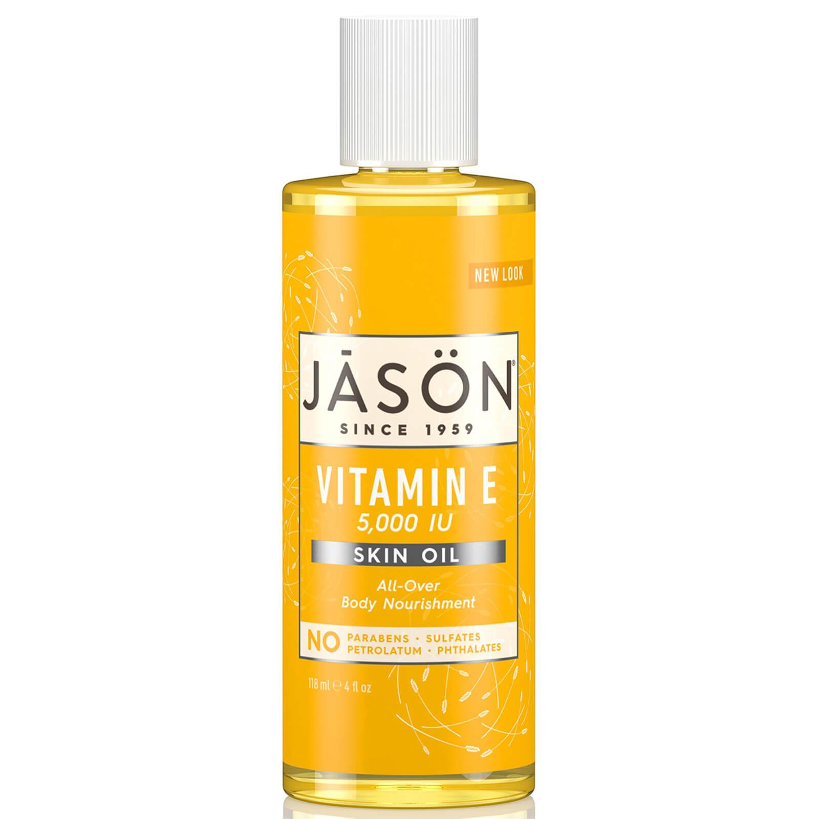 JASON Vitamin E 5,000iu Oil - All Over Body Nourishment 118ml