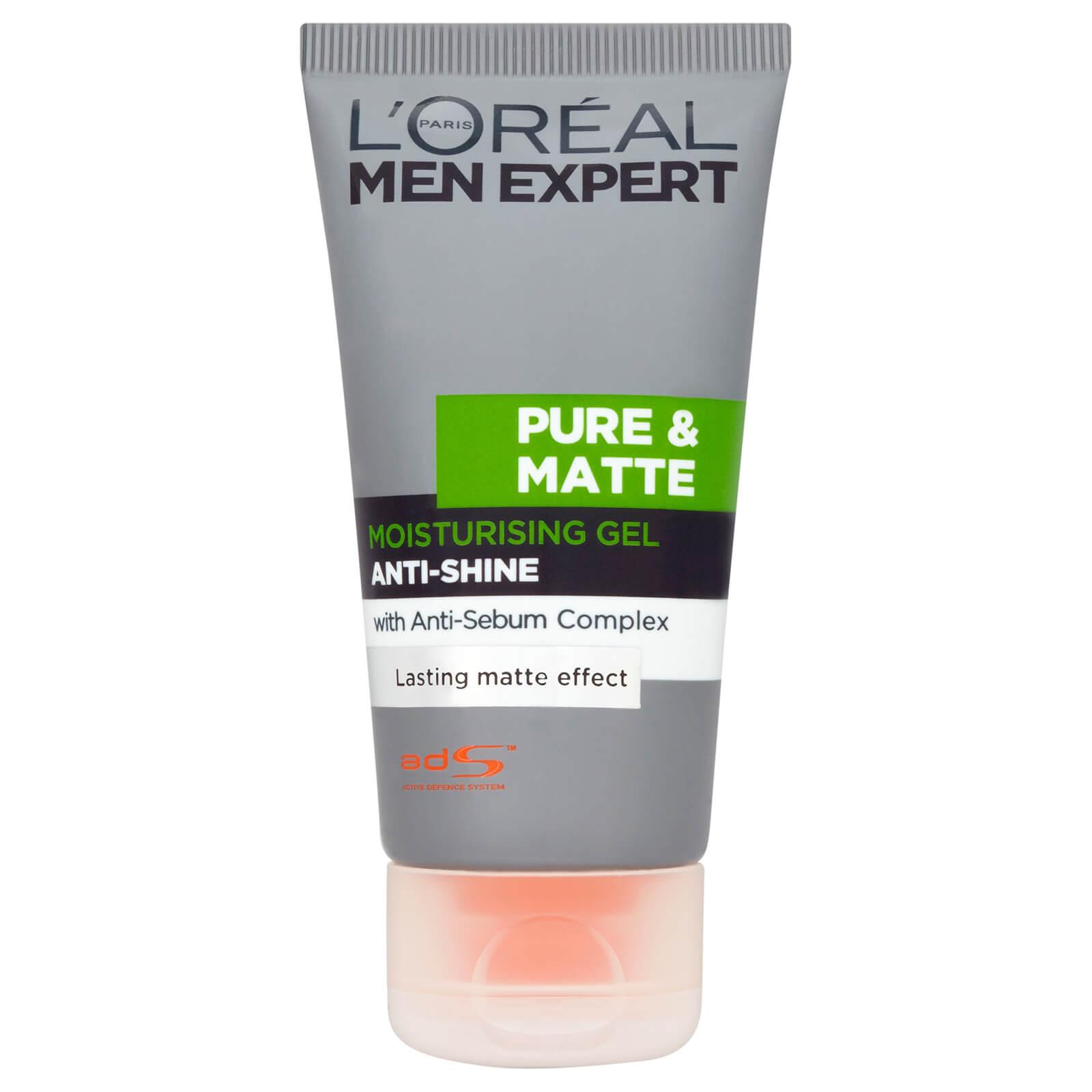 Купить Матирующий увлажняющий гель для мужчин L'Oréal Men Expert Pure & Matte Anti-Shine Moisturising Gel (50 мл)
