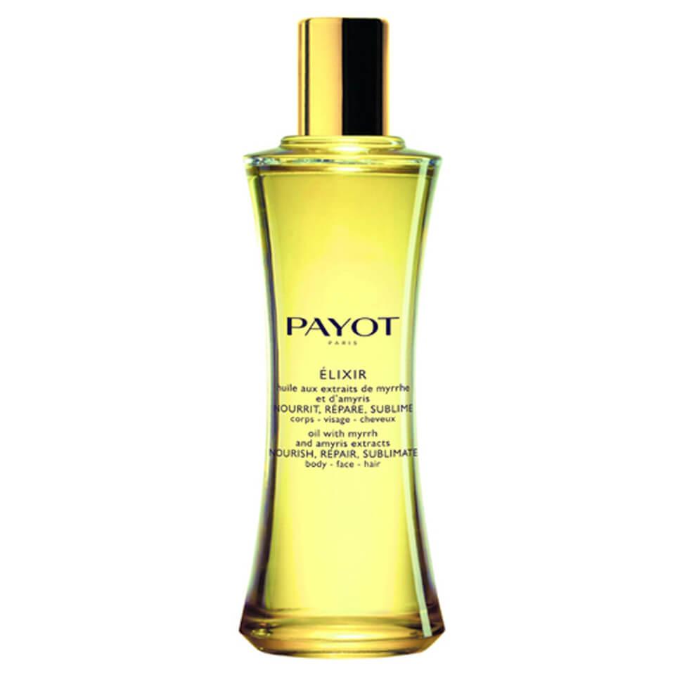 Купить Масло с экстрактами мирры и амириса для тела, лица и волос PAYOT Elixir Dry Oil For Body, Face and Hair 100 мл