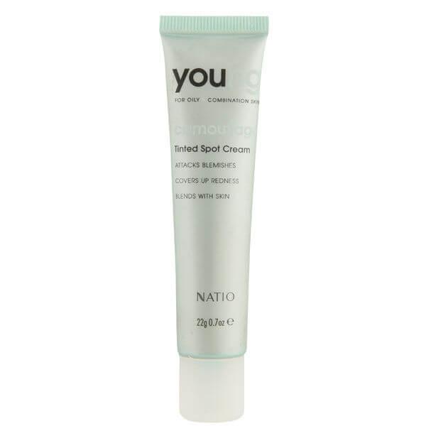 Купить Крем от покраснений для молодой кожи Natio Young Tinted Spot Cream (22г)