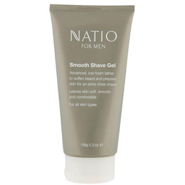 Natio For Men gel rasatura scorrevole (150 g)