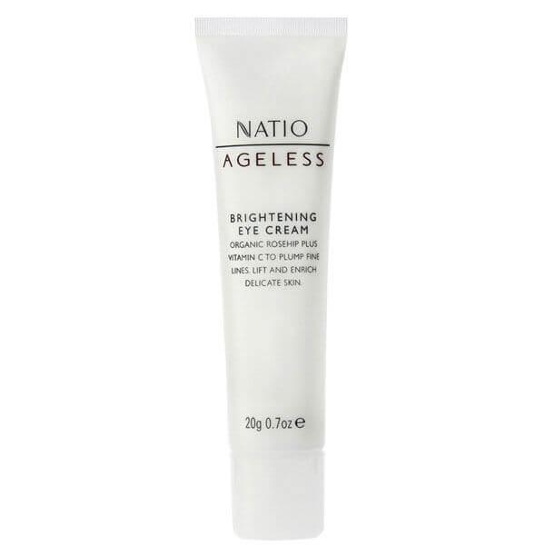 Natio Ageless Brightening Eye Cream (20g)