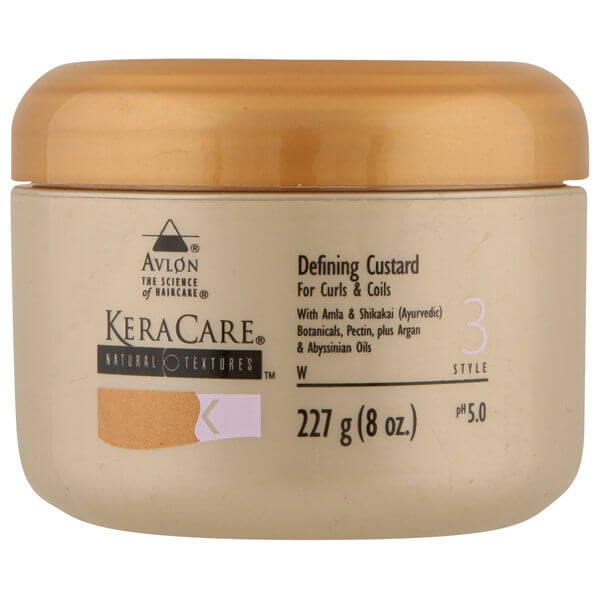 Crema definante y texturisante KeraCare Natural Textures Defining Custard (227g)