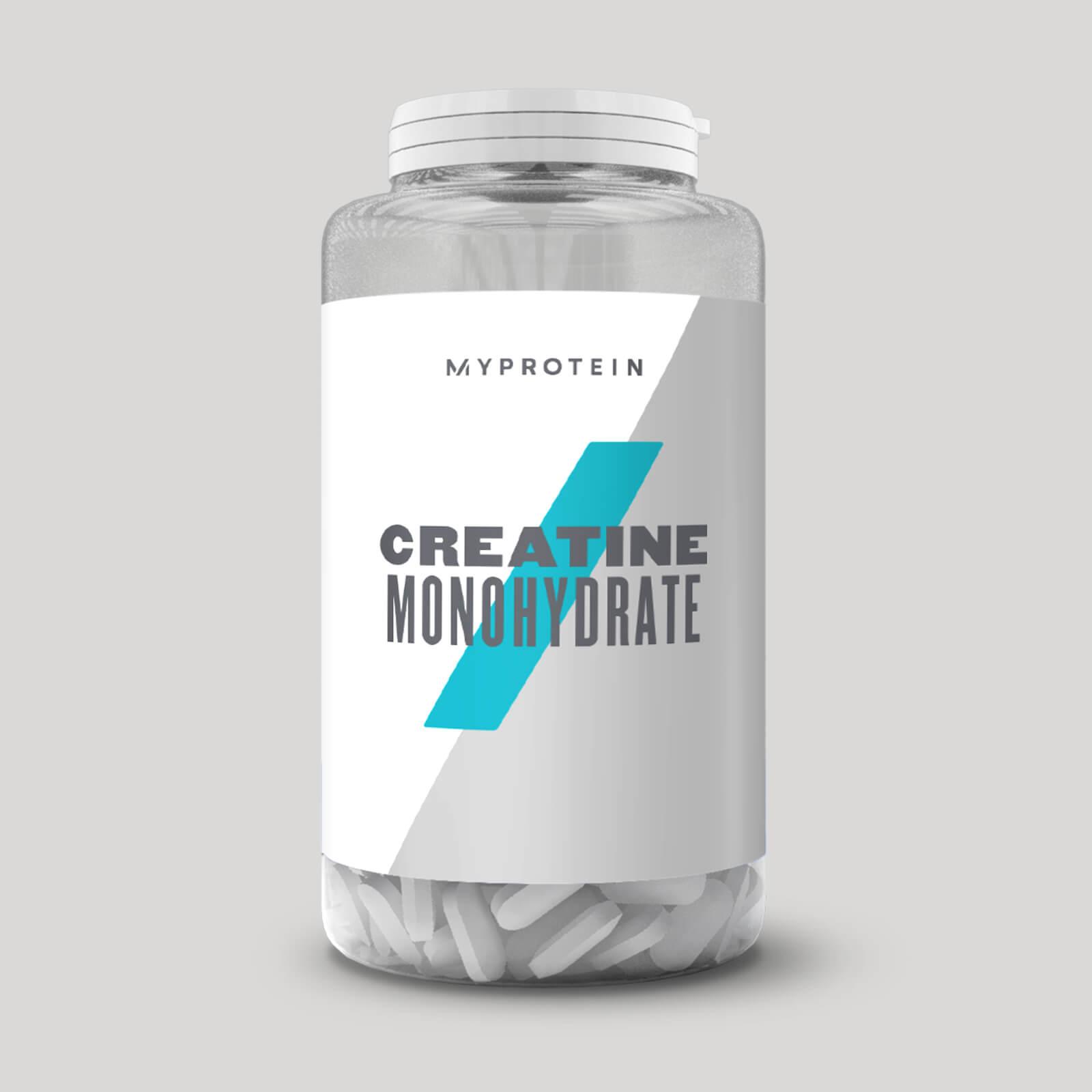 Monohidrato de Creatina Cápsulas - 250Tabletas - Sin Sabor