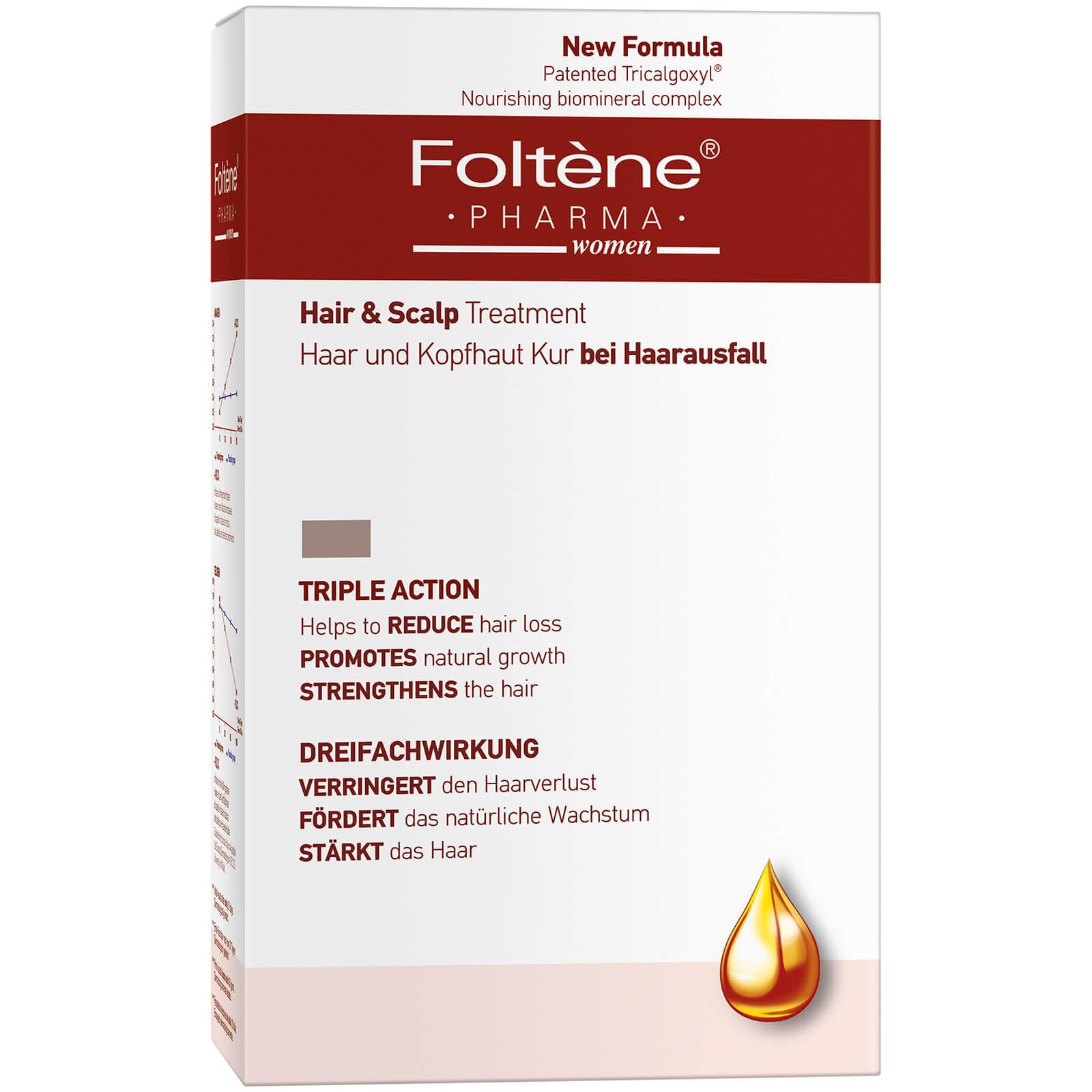 Купить Питательный биоминеральный комплекс для укрепления волос и кожи головы Foltène WoMen's Hair and Scalp Treatment 100мл