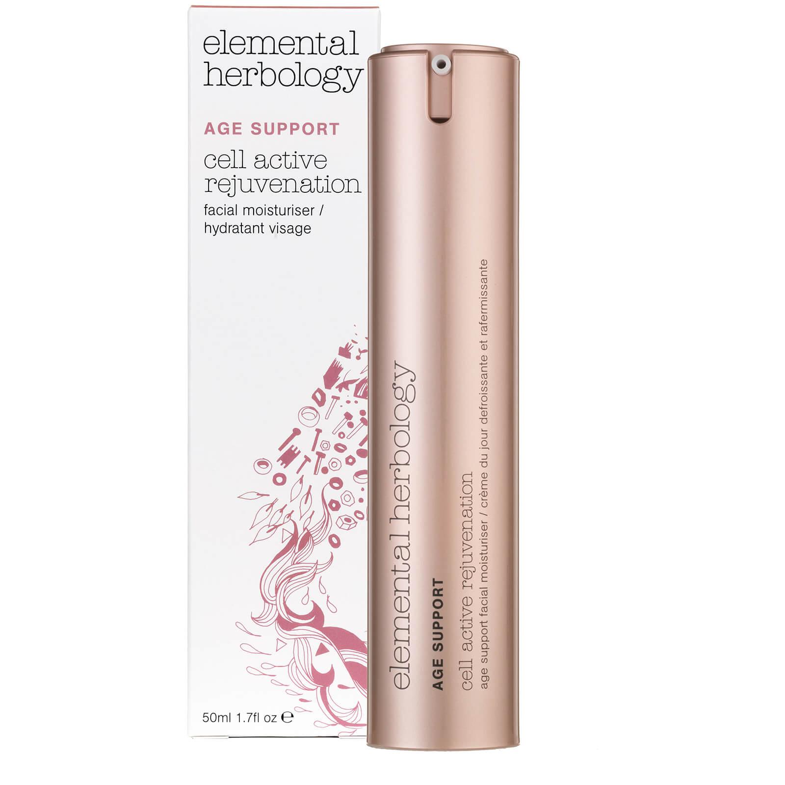 Антивозрастной увлажняющий крем для лица Elemental Herbology Cell Active Rejuvenation Age Support Facial Moisturiser - 50 мл  - Купить