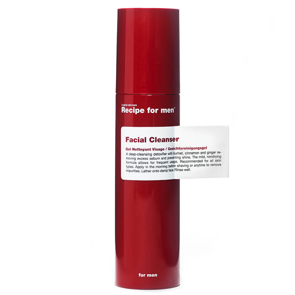 Recipe for Men Facial Cleanser 100ml