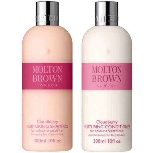 Molton Brown Cloudberry Nurturing Shampoo & Conditioner 300Ml (Bundle)