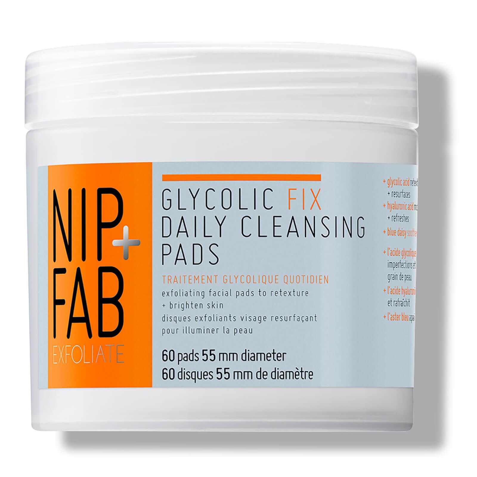 Купить Очищающие диски для ежедневного применения NIP + FAB Glycolic Fix Daily Cleansing Pads - 60 дисков
