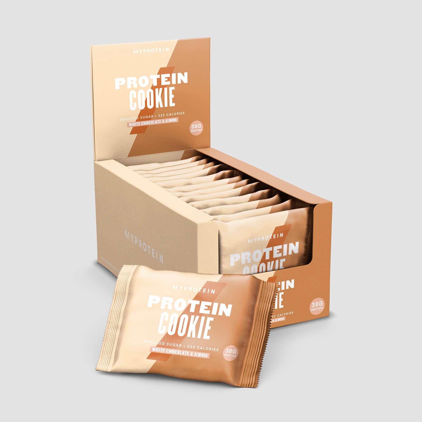 Cookie Protéiné - Chocolat blanc aux amandes