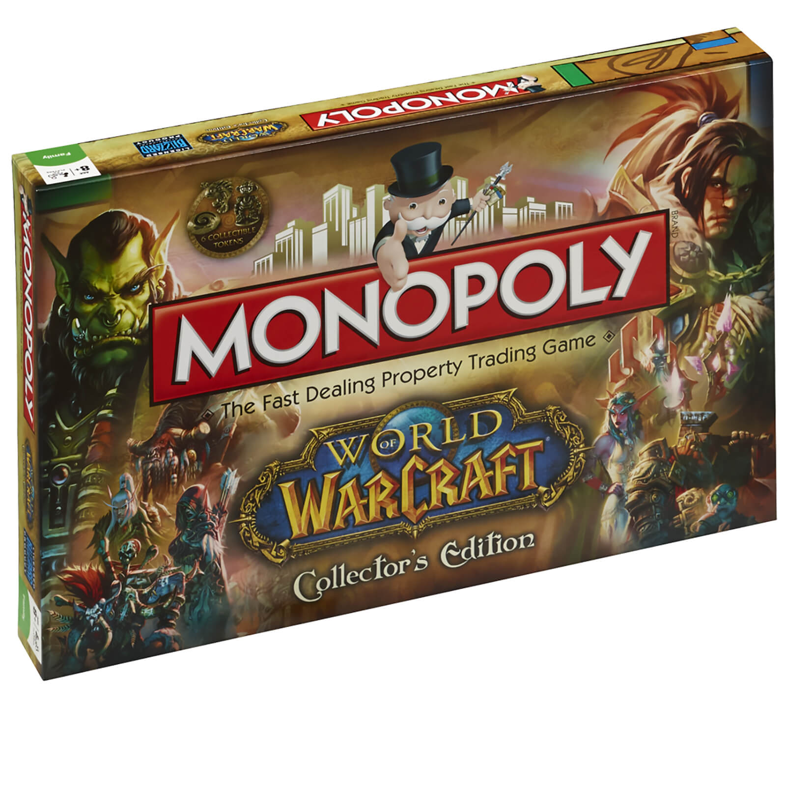 Image of Monopoly - World of Warcraft Edition