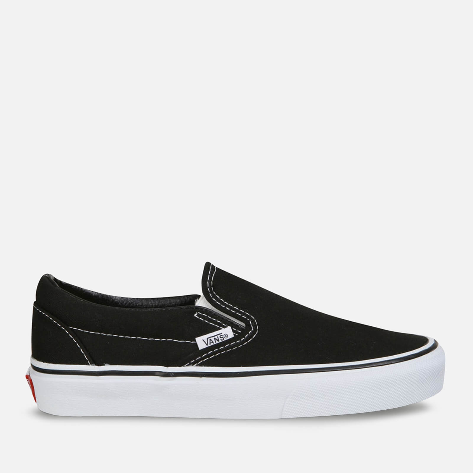 Vans Classic Slip On Trainers Black Uk 8