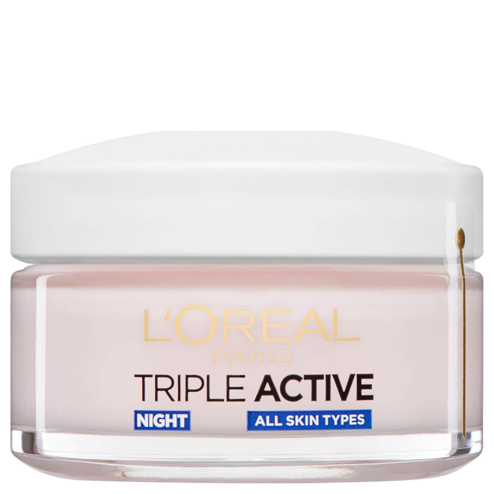 l'oreal paris dermo expertise triple active hydrating night moisturizer (50ml)