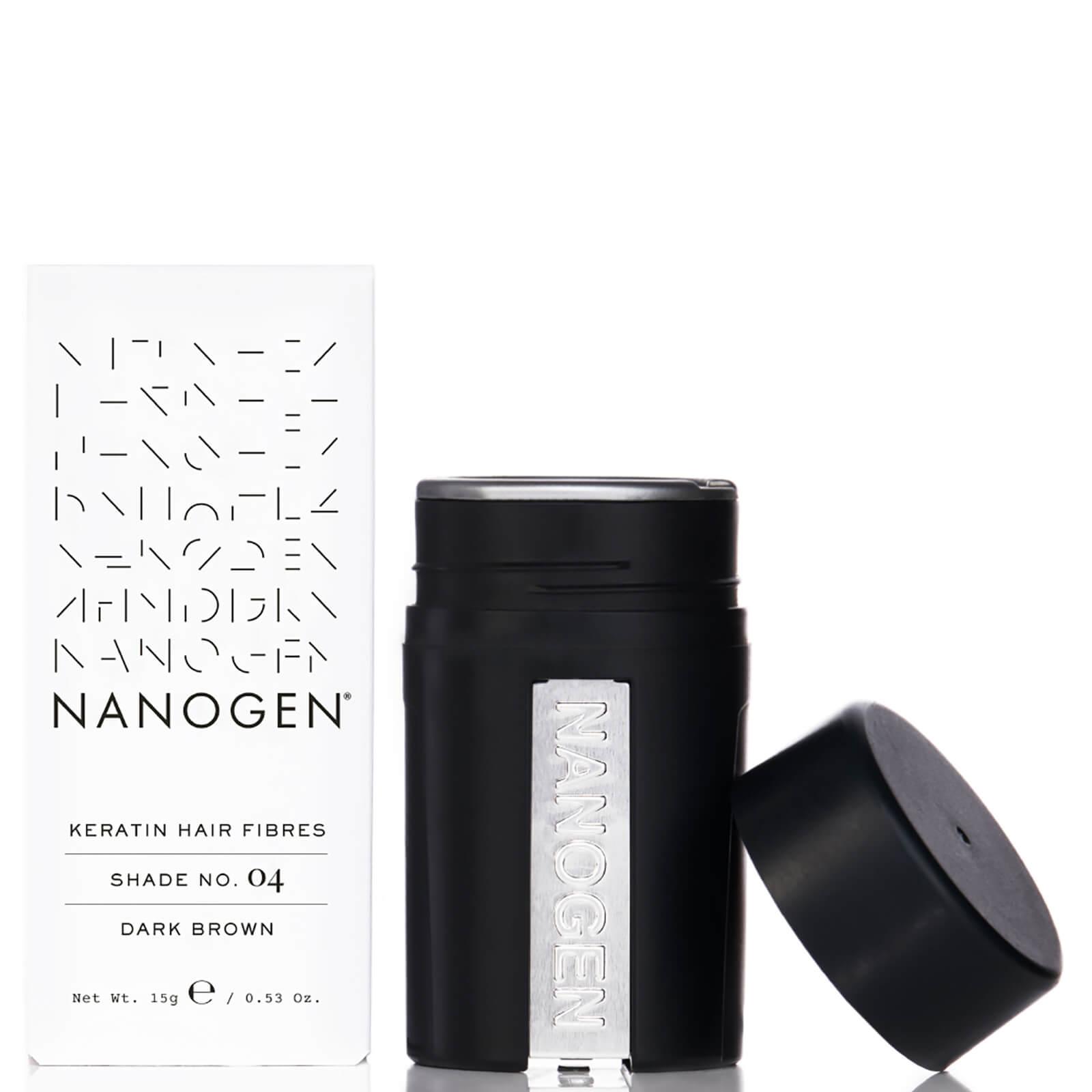 Купить Nanogen Hair Thickening Fibres Dark Brown (15g)