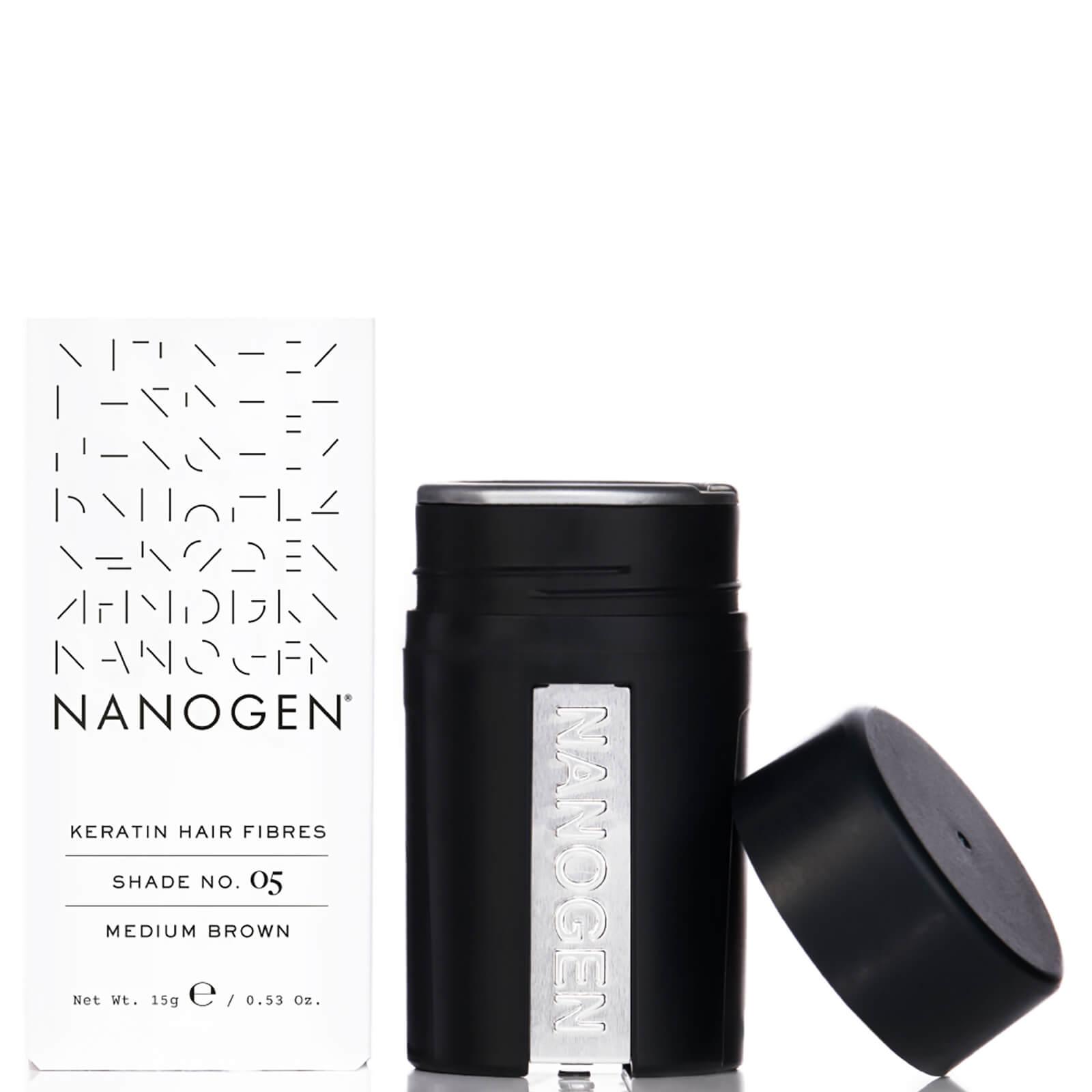 Купить Nanogen Hair Thickening Fibres Medium Brown (15g)