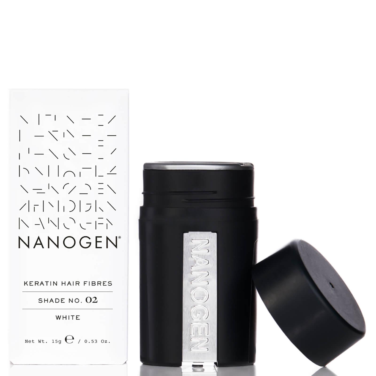 Купить Nanogen Hair Thickening Fibres White (15g)