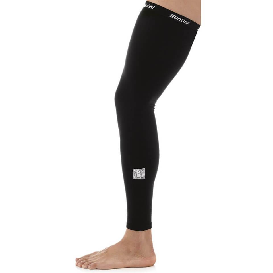 Santini Totem Leg Warmers - Black - XS-S - Black