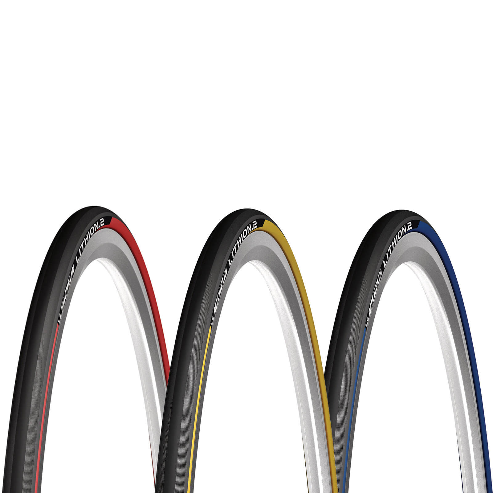 Michelin Lithion 2 Clincher Rennradreifen - 700c x 25mm - Grau/Schwarz