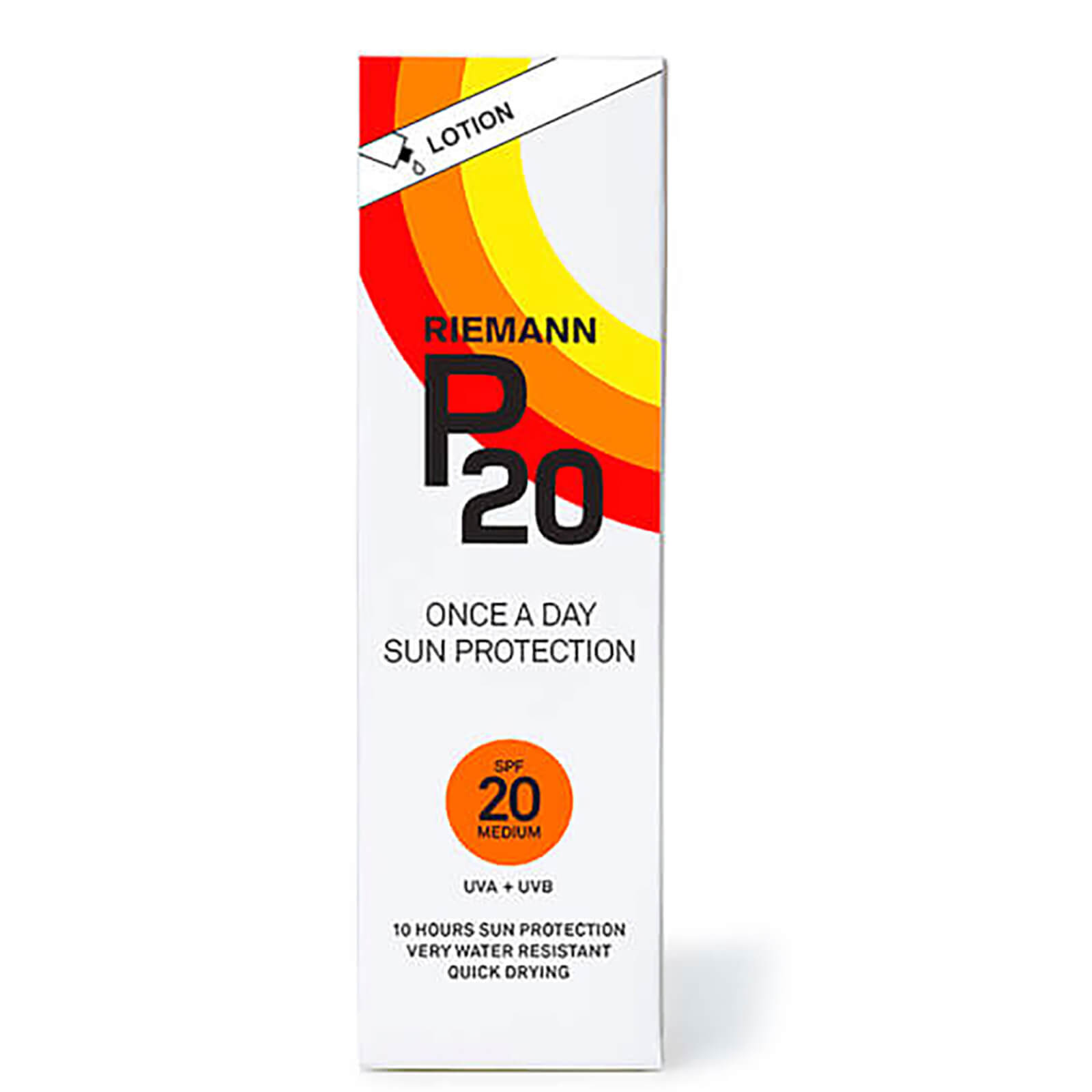Best Selling Riemann P20 Once a Day Sun Protection Lotion SPF20 ...