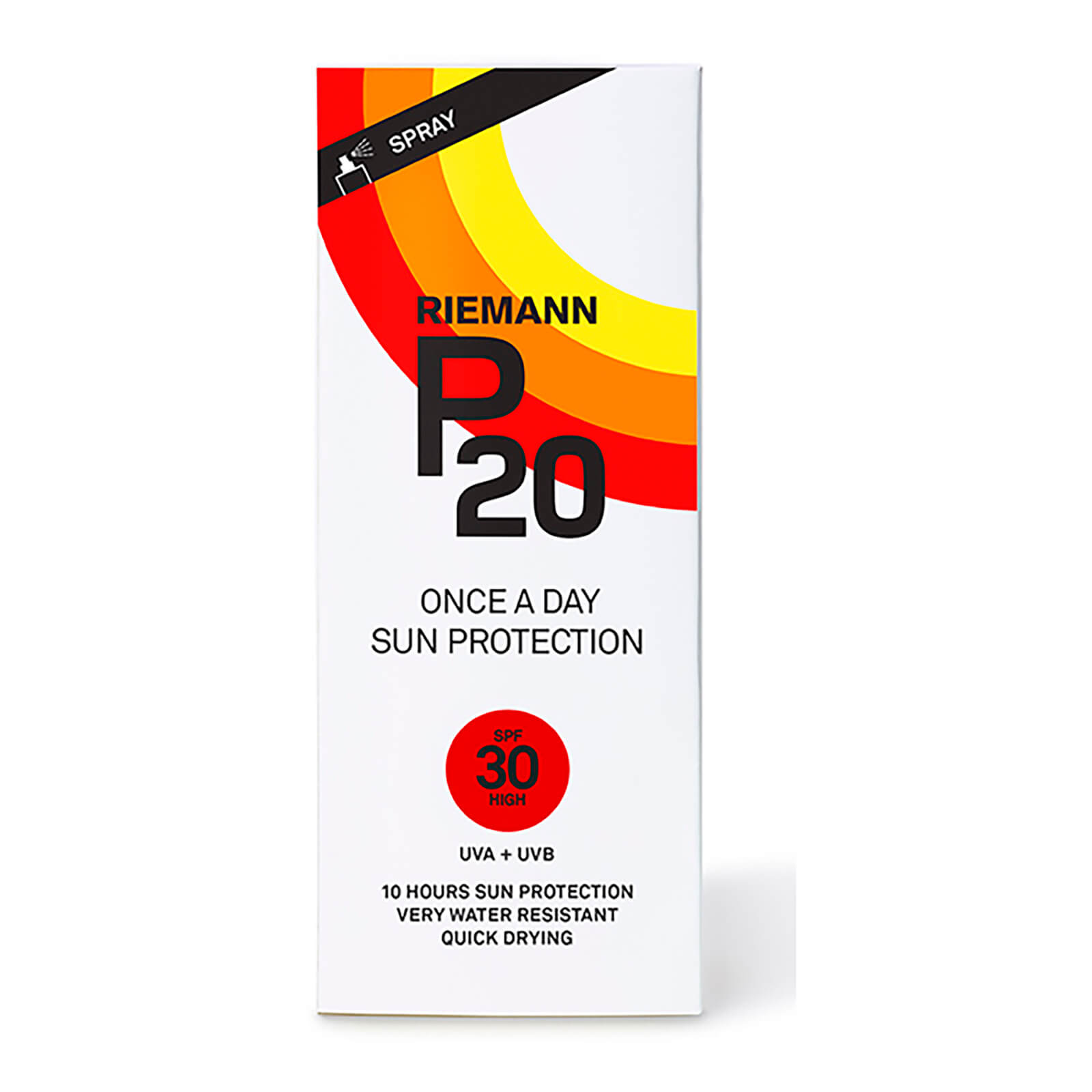 Riemann P20 Once a Day Sun Protection Spray SPF30 200ml