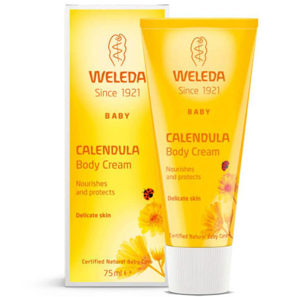 Купить Увлажняющий детский крем для тела с календулой Weleda Baby Calendula Moisturising Body Cream (75мл)