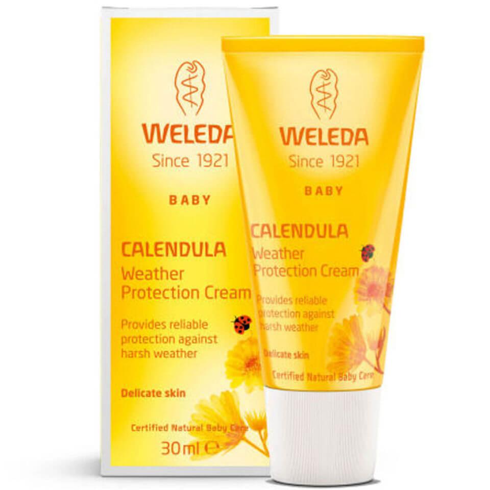 Купить Детский защитный крем от непогоды с календулой Weleda Baby Calendula Weather Protection Cream (30мл)