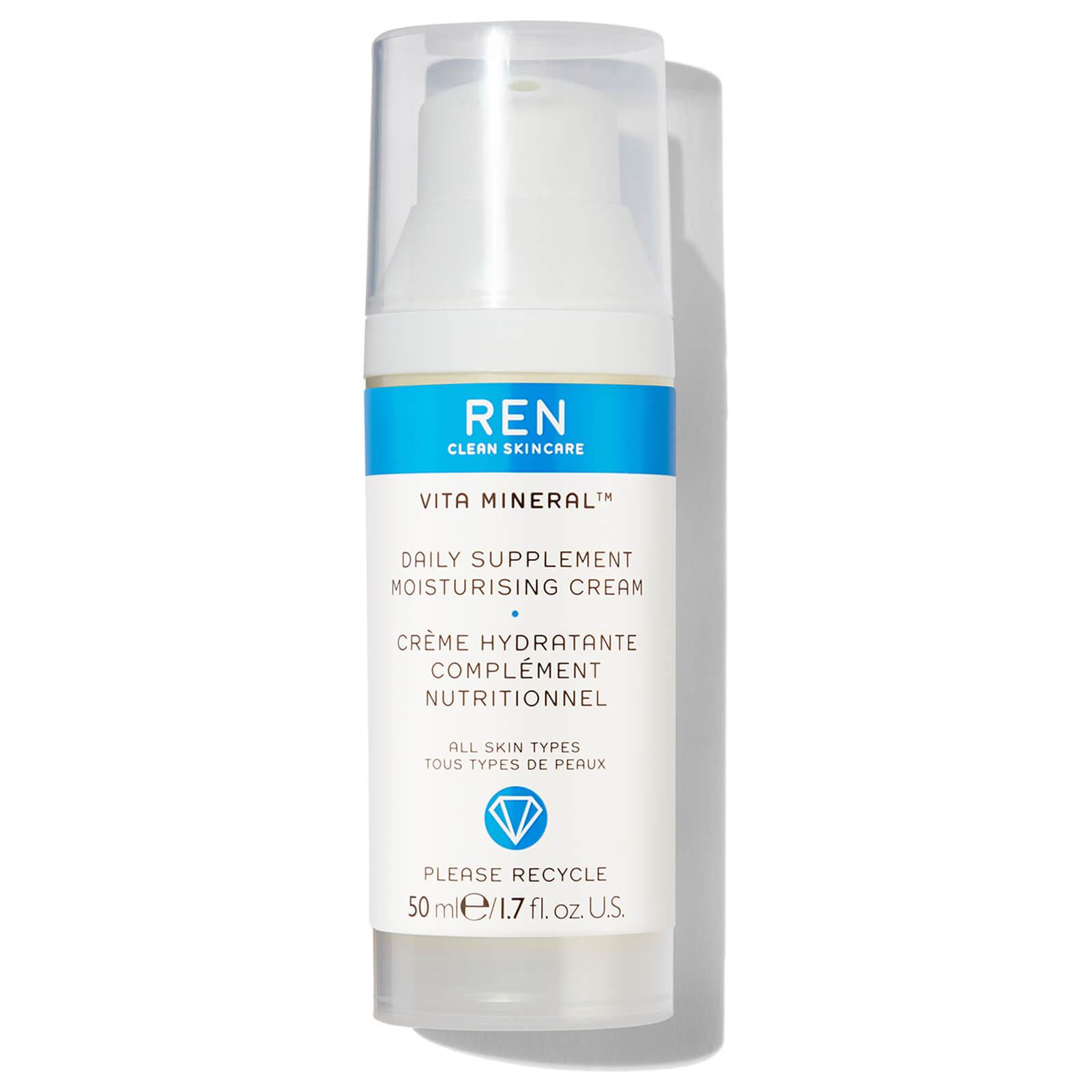 REN Vita Mineral crème hydratante complément nutritionnel  (50ml)