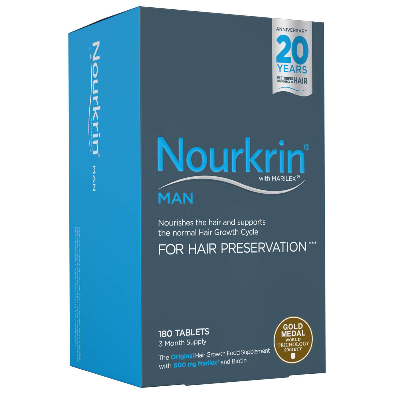 Nourkrin Man Starter Pack - fornitura di 3 mesi (180 compresse)