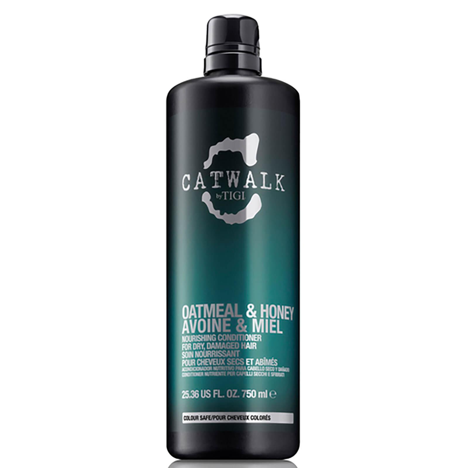 Купить Кондиционер для питания сухих и ломких волос TIGI Catwalk Oatmeal & Honey Nourishing Conditioner (750 мл)