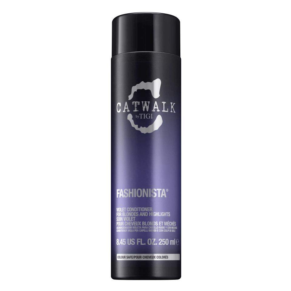 Купить Кондиционер для коррекции цвета осветленных волос TIGI Catwalk Fashionista Violet Conditioner 250 мл
