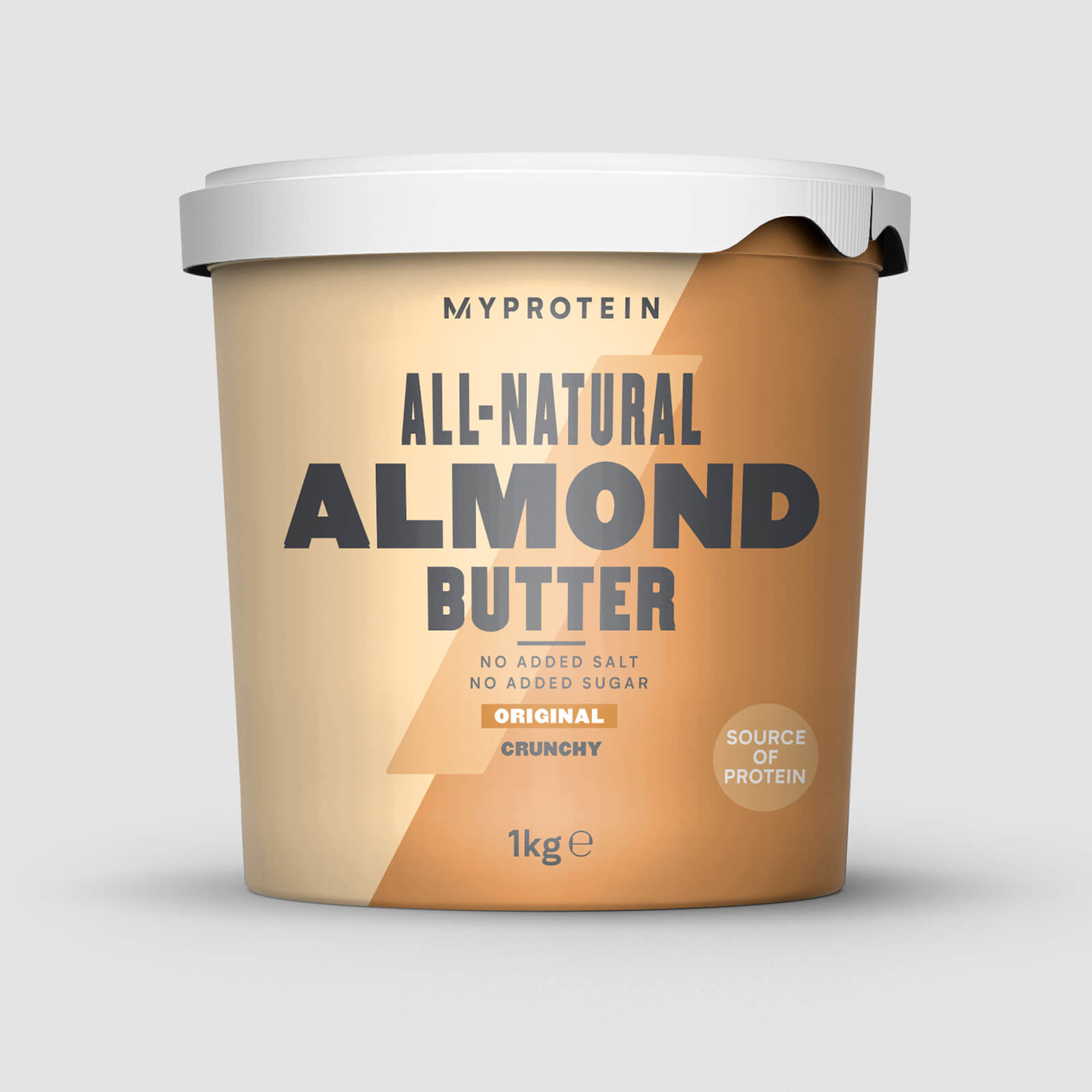 Beurre d'amandes - 1kg - Nature - Croustillant