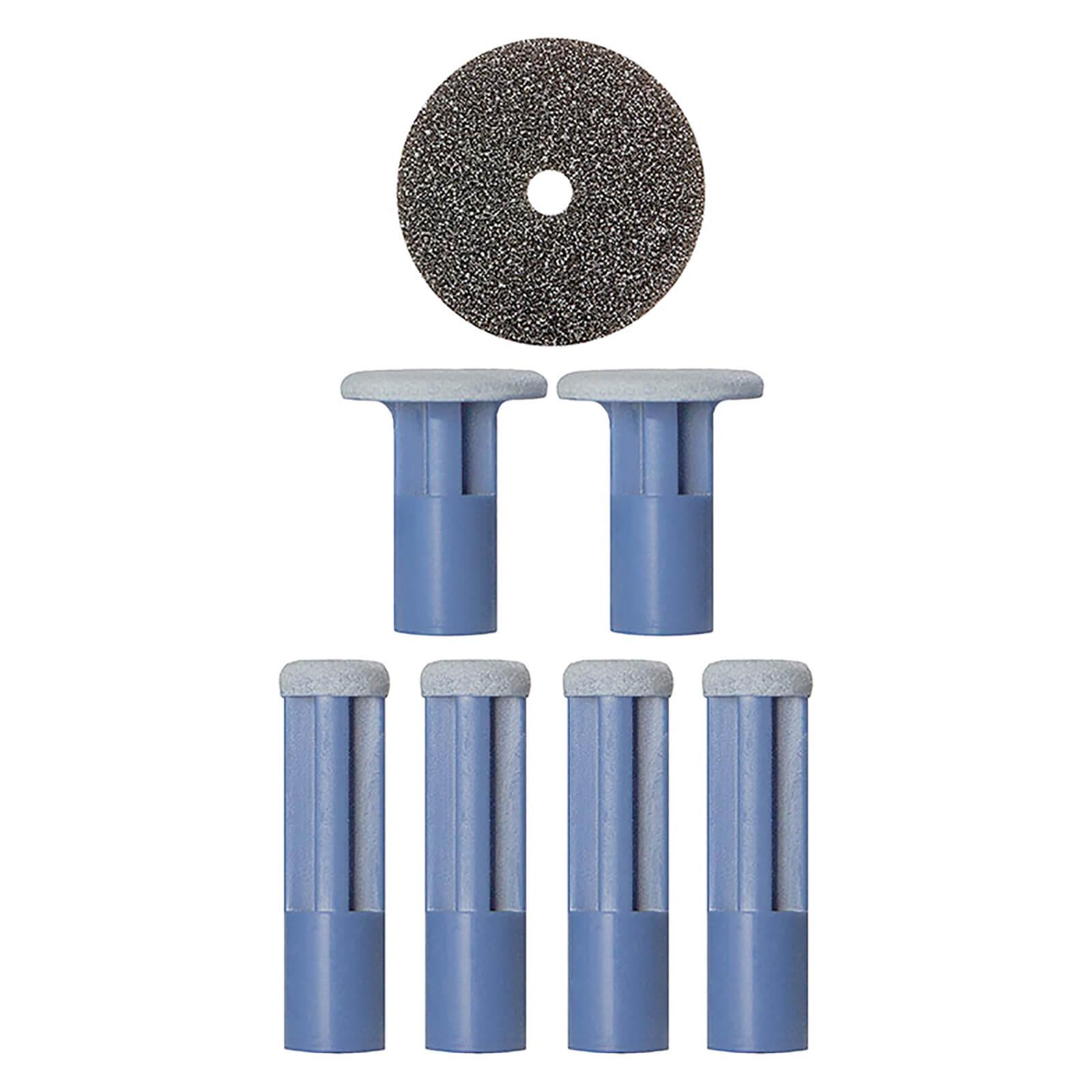 Купить Синие сменные диски PMD Mixed Blue Replacement Discs - 6 шт. в упаковке