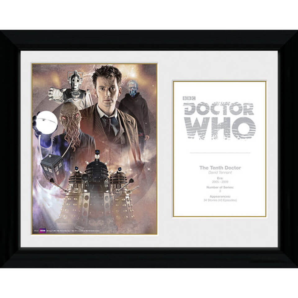 Doctor Who 10th Doctor David Tennant   30 X 40cm Collector Prints