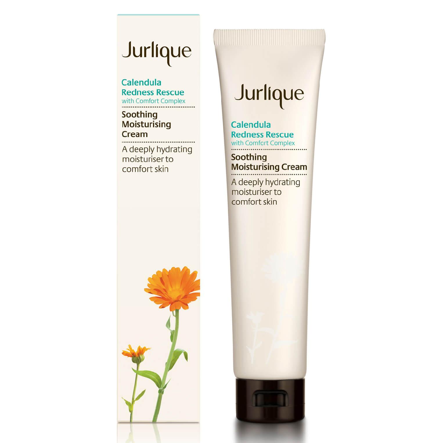 jurlique calendula redness rescue soothing moisturizing cream (1.4oz)