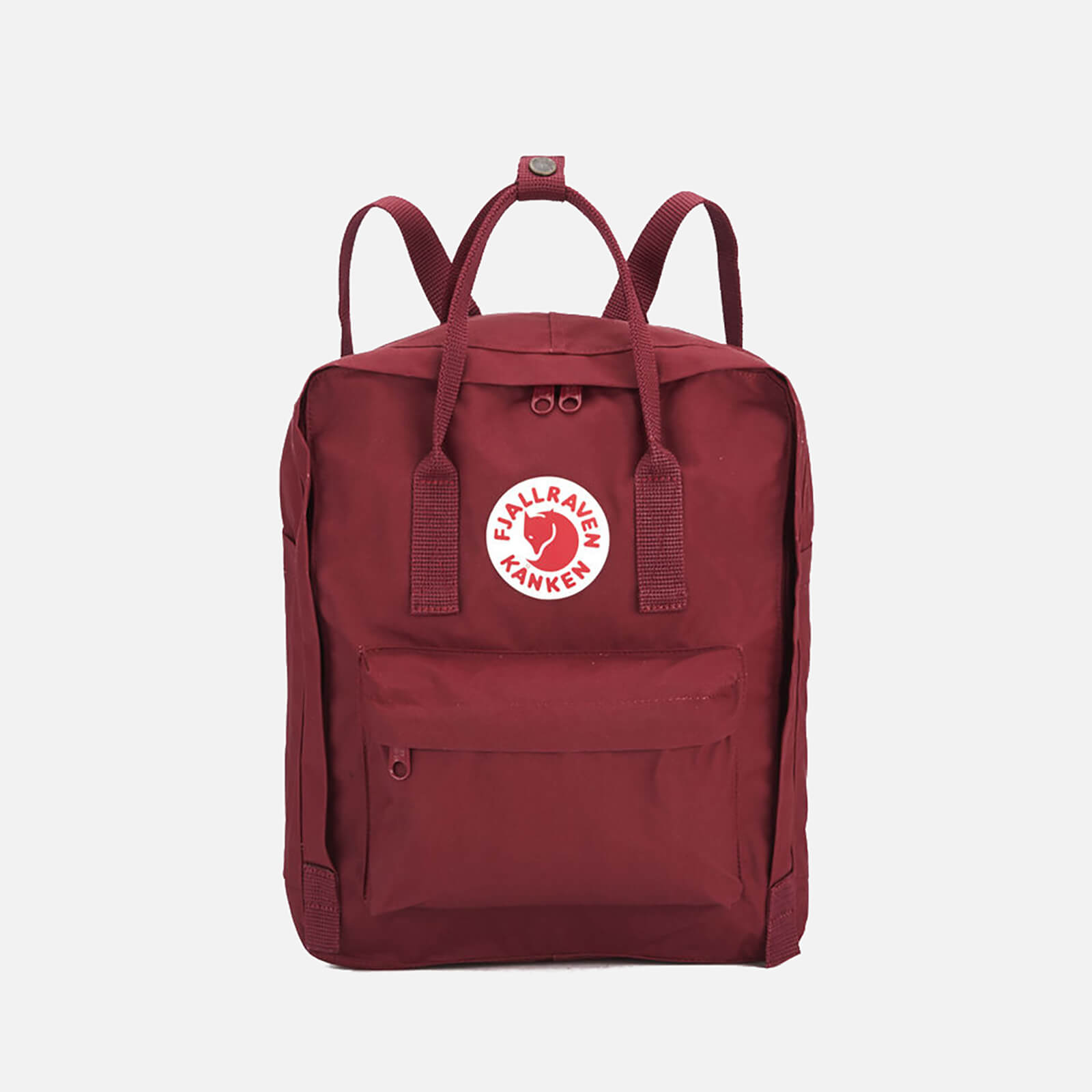 Click to view product details and reviews for Fjallraven Kanken Backpack Ox Red.