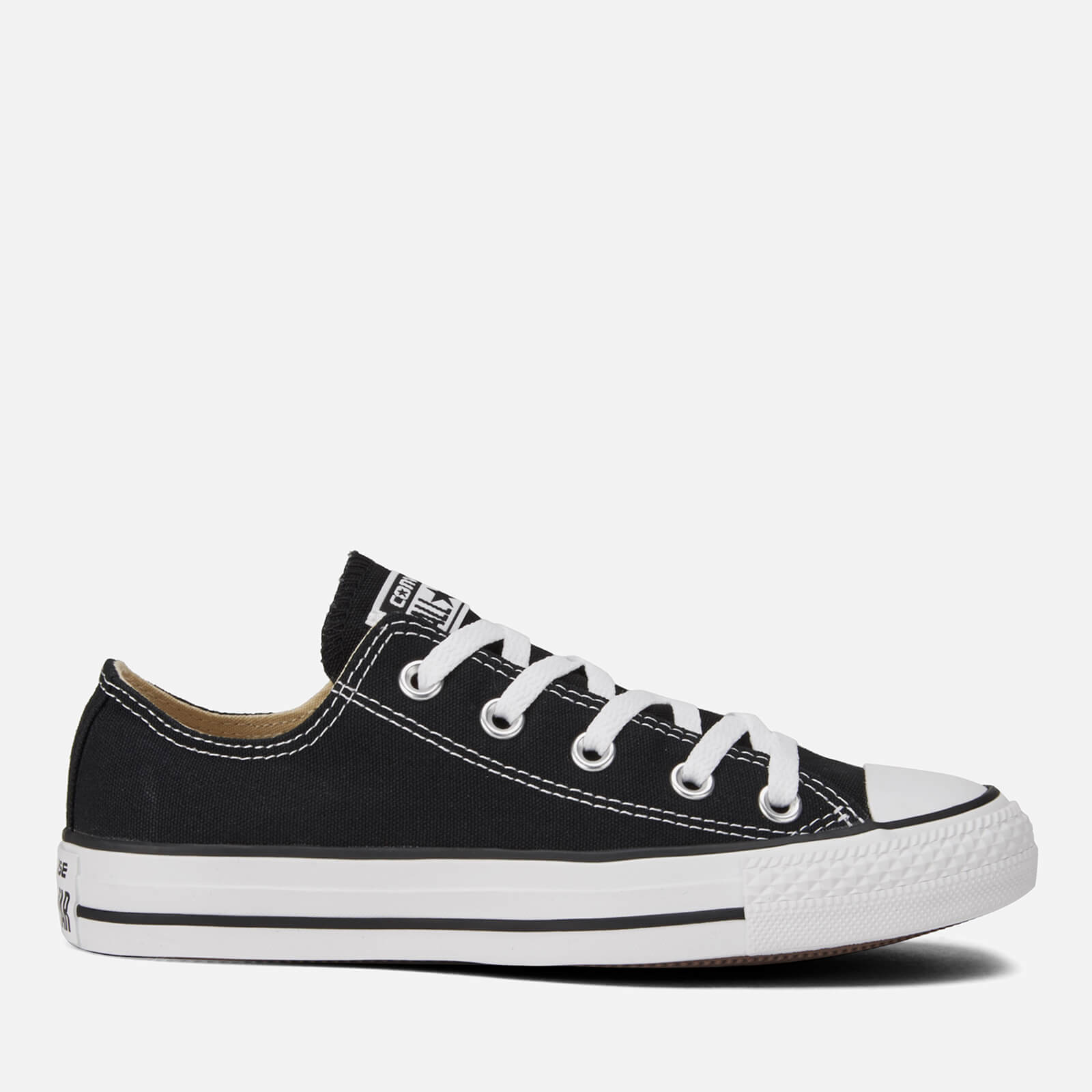 Converse Chuck Taylor All Star Ox Trainers Black Uk 4