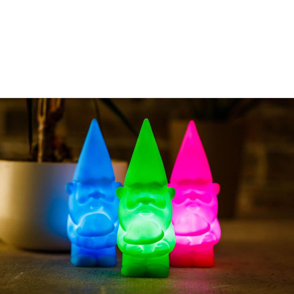 Gnome Light   Blue/Green/Pink