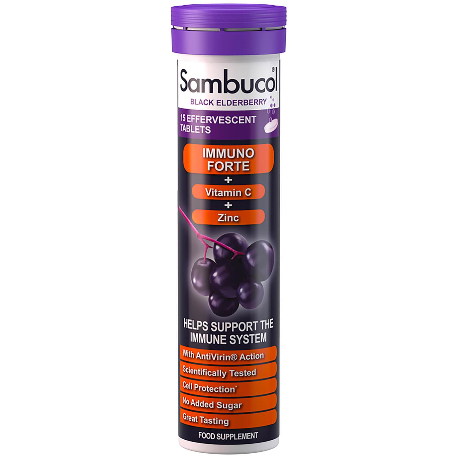 Sambucol Immuno Forte integratore effervescente (15 compresse)