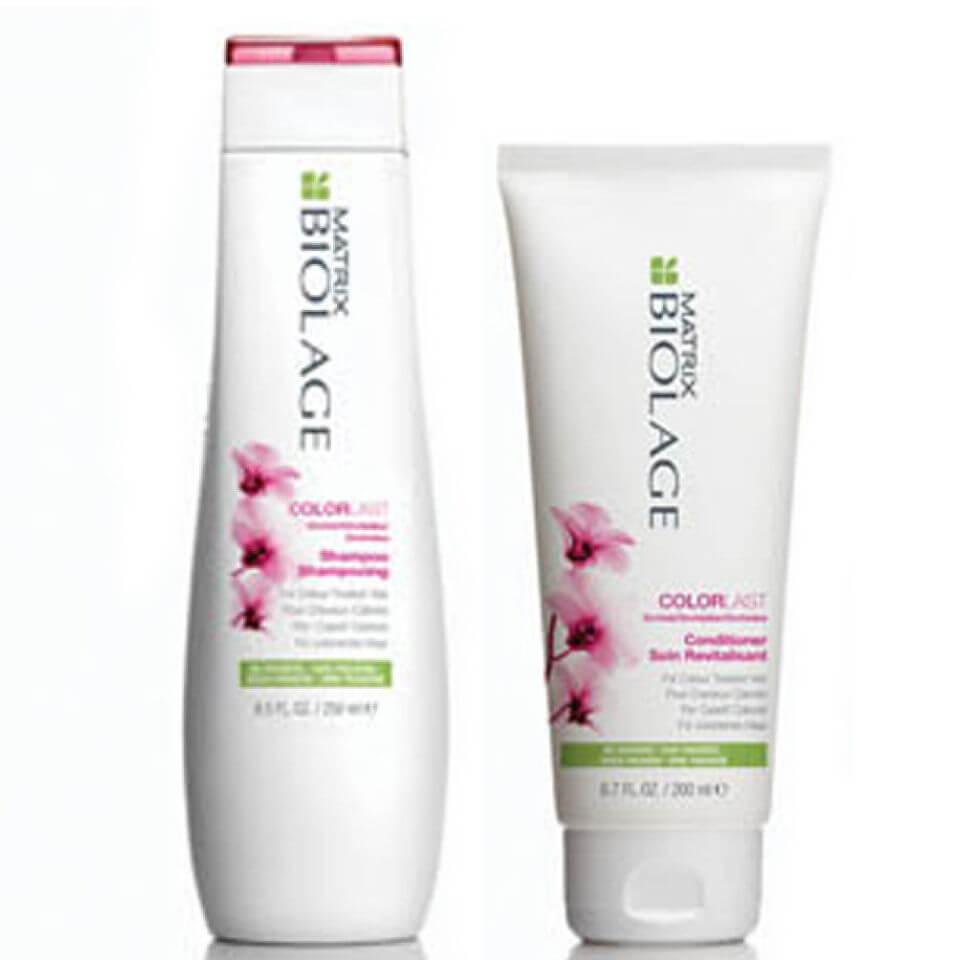 Купить Шампунь и кондиционер для защиты окрашенных волос Matrix Biolage ColorLast Shampoo and Conditioner