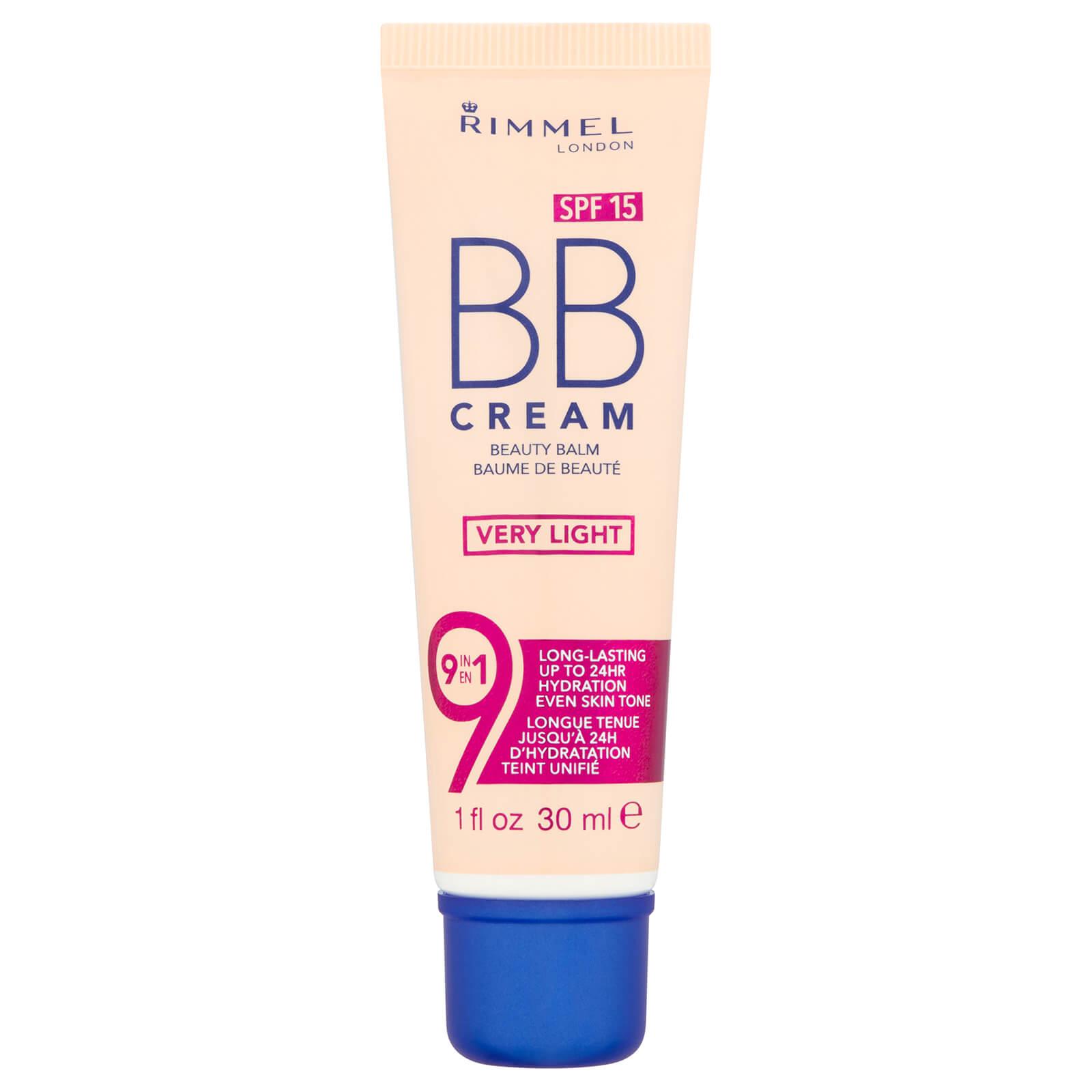 Rimmel 9-in-1 Super Make-Up BB Cream 30ml (Various Shades) - Very Light