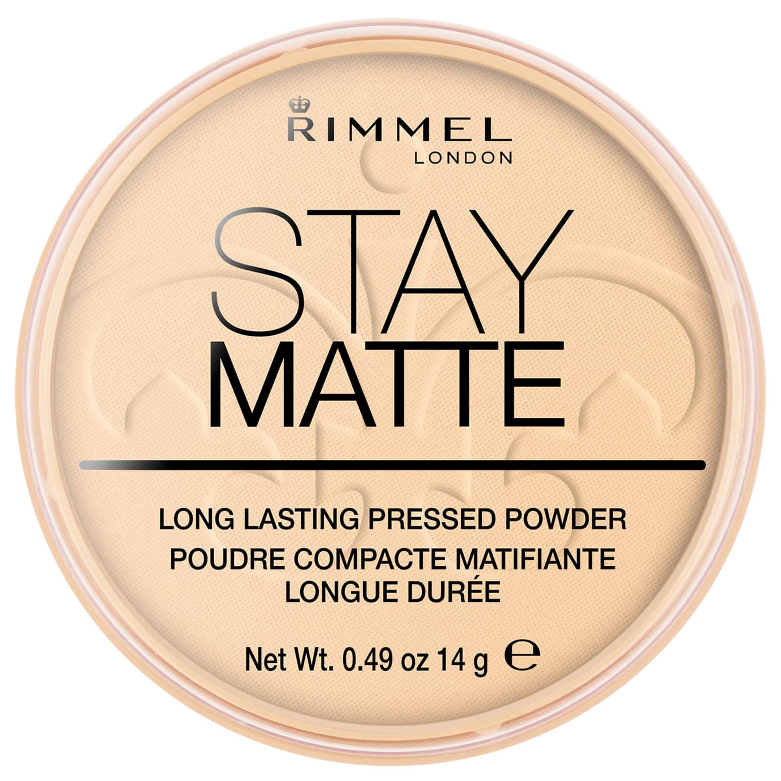 Купить Rimmel Stay Matte Pressed Powder - Прозрачный