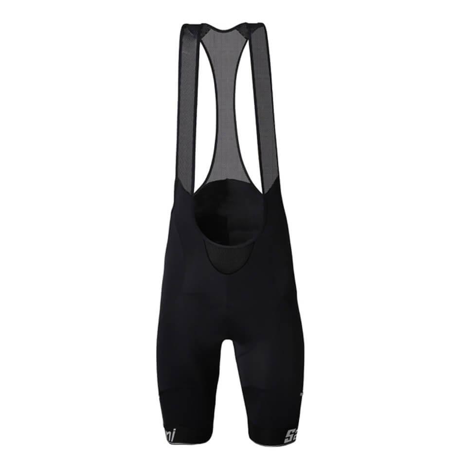 Santini Mago Bib Shorts – Schwarz - XXL - Schwarz