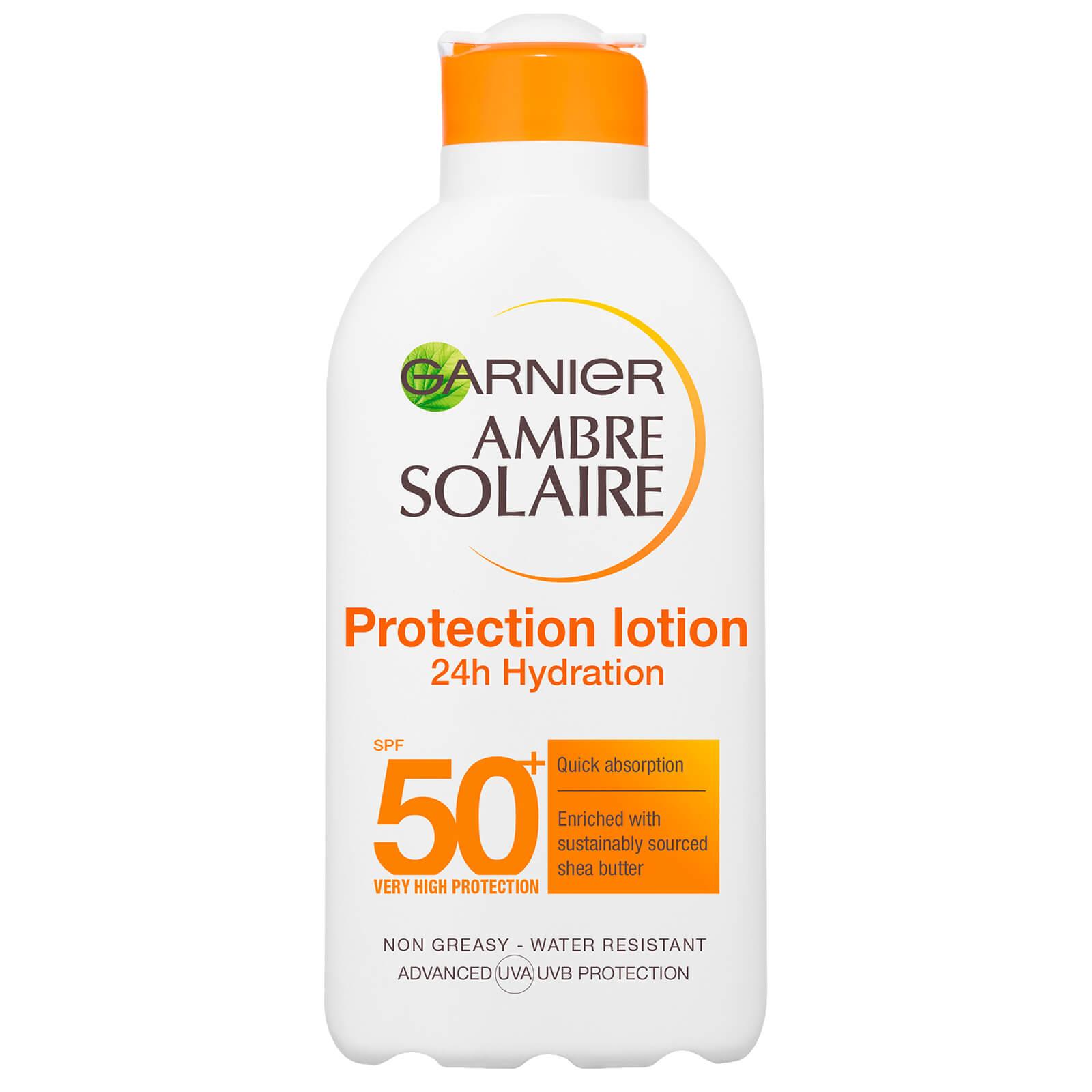 garnier ambre solaire milk spf50 vitamin c (7oz)