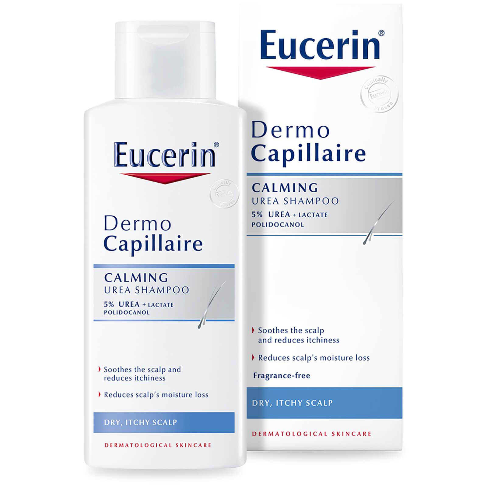 Купить Успокаивающий шампунь для сухой и раздраженной кожи головы Eucerin® DermoCapillaire Calming Urea Shampoo (250 мл)